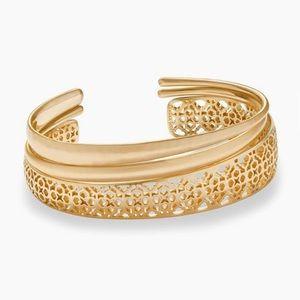 Kendra Scott Tiana Gold Pinch Bracelet Set